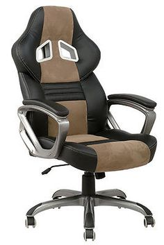 b rosessel b rostuhl drehstuhl chefsessel stuhl deco pu leder neu bsd003 braun ebay. Black Bedroom Furniture Sets. Home Design Ideas