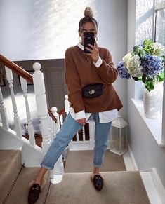 40 Classy Fashion Fall Outfits With Your Street Styles ; Source by yessicazat outfits classy : 40 Classy Fashion Fall Outfits With Your Street Styles ; Source by yessicazat outfits classy Winter Fashion Outfits, Fall Winter Outfits, Autumn Fashion, Casual Winter, Look Winter, Spring Fashion, Winter Ootd, Casual Summer, Mode Outfits