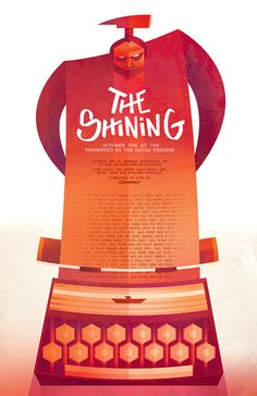 The Shining Poster by Sean Loose