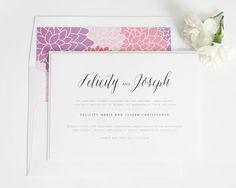 Rustic Romance Wedding Invitations - Wedding Invitations by Shine