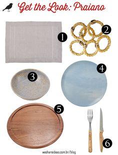 get the look para mesa praiana com produtos inspirados na mesa posta do site.