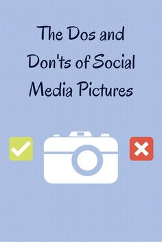 Great tips via @hootsuite - To reach the full visual engagement potential of your social media pictures, here are DOs and DON'T for your page's essential visual elements: profile photos, cover images, and picture posts. http://blog.hootsuite.com/dos-and-donts-of-social-media-pictures/