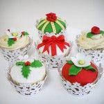 Christmas cupcakes http://bimbacattiva.altervista.org/blog/christmas-cupcakes/