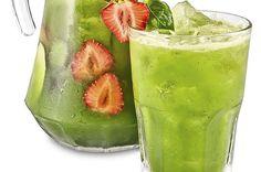 bazalková limonáda Pickles, Cucumber, Kitchen Appliances, Vegan, Food, Syrup, Diy Kitchen Appliances, Home Appliances, Essen