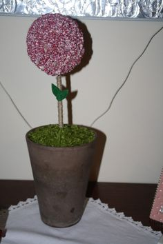 apple tree from fabric