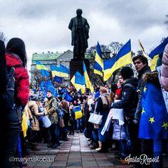 .@euromaidan_ua | by @marynakobaa via @InstaReposts #euromaidan_ua #євромайдан #єс | Webstagram