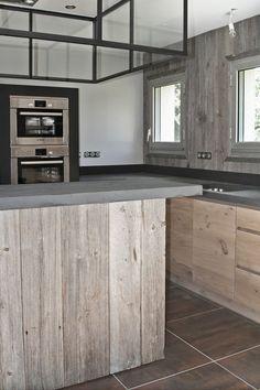 1000 images about cuisine d 39 ambiance atelier on pinterest atelier cuisine and plan de travail. Black Bedroom Furniture Sets. Home Design Ideas