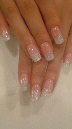 Wedding nails.
