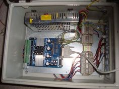 CNC Basics (Building a Cnc Machine Part : 4 Steps - Instructables Machine Parts, Cnc Machine, Arduino Stepper, Cnc Plans, Cnc Wood, Cnc Projects, Old Computers, Cnc Router, Working Area