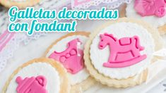 Galletas de mantequilla decoradas | #15 Mesa dulce para Baby Shower | Qu...