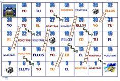 A jugar con los verbos. Reglas del juego:   http://www.aspasleehablacomunica.com/695/   Tablero:  http://www.aspasleehablacomunica.com/wp-content/uploads/2013/03/tablero-de-verbos2.doc