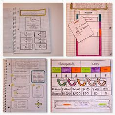 Mrs. C's Classroom: Feeling Proud of my Interactive Math Notebook!
