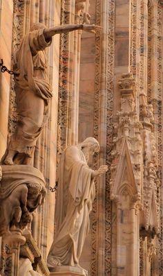 Details of Milan Cathedral(Duomo di Milano), Italy