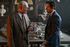 Christopher Plummer and Mark Wahlberg discuss the worth of a grandson.