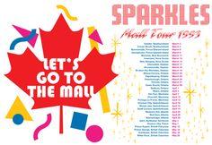 Robin Sparkles Mall Tour 1993 t-shirt!