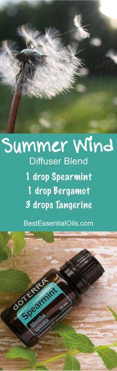 Summer Wind doTERRA Diffuser Blend