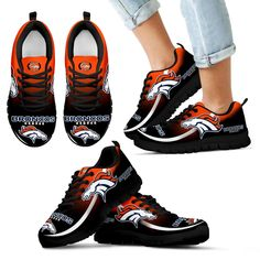 Mystery Straight Line Up Denver Broncos Sneakers – Vota Color Denver Broncos Football, Broncos Fans, Cincinnati Bengals, Indianapolis Colts, Alabama Football, Pittsburgh Steelers, American Football, College Football, Dallas Cowboys