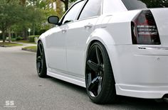Lowering, Offset, and Rolling Fenders..GURUS Chrysler 300 Custom, Chrysler 300 Srt8, Chrysler 300s, Chrysler Pt Cruiser, Car Goals, Car Gadgets, Rear Wheel Drive, Custom Wheels, Modified Cars