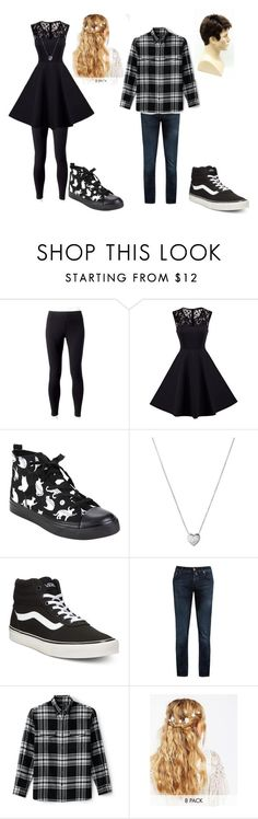 """""""Christmas/ new years couple outfit"""" by chocolatecows on Polyvore featuring Jockey, Links of London, Vans, Jacob Cohën, Lands' End and ASOS"""