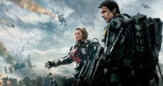 "EDGE OF TOMORROW (2014) - ""Edge of Tomorrow benefits from a clever, high-concept premise, flashes of humour, gritty, real action and an initially unusual turn from Tom Cruise. However, as Cruise relaxes into his more typical Ethan Hunt-esque role, the film's earlier tentative probes at deeper themes are thrown out of the window for a boringly safe, if entertaining, ending."" Will Lord, The Moviejerk"