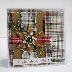 kartka świąteczna pachnąca pierniczkami