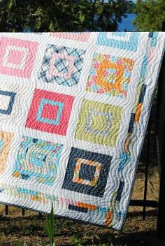 Baby or Lap Quilt Pattern Layer Cake or Fat Quarters by sweetjane, $9.00 by misty