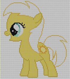 Sunnydaze Pattern by ~Jackiekie on deviantART perler bead design Beaded Cross Stitch, Crochet Cross, Cross Stitch Embroidery, Embroidery Patterns, Cross Stitch Patterns, Cross Stitch For Kids, Cross Stitch Baby, Filly, My Little Pony Unicorn