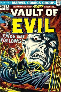 No  man  escapes  alive  from  the ... Vault  of  Evil  !