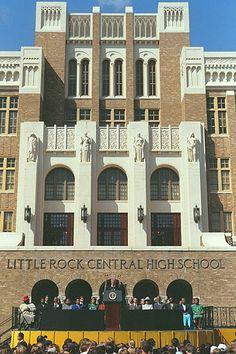 Little Rock High School in Little Rock, Arkansas
