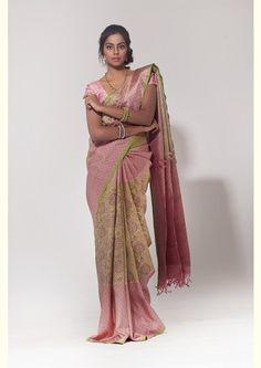 kanchipuram silk saree - Aavaranaa