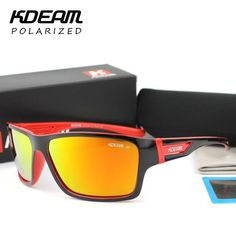 2fc1ccb52d FuzWeb:New Listed Polarized Sunglasses Kdeam Glasses Men Eyewear Steampunk  Goggles With Box lentes de