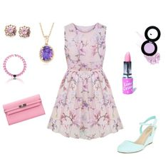 Pink petunia  by skylar16-1 on Polyvore