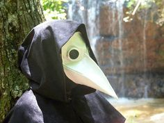 Plague doctor mask by MicahsMasques on Etsy, $90.00