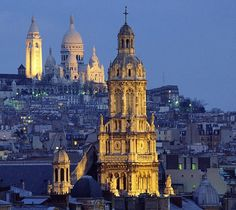 Paris, France  ~~~ Montmartre