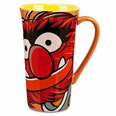 Disney Animal Mug - The Muppets | Disney StoreAnimal Mug - The Muppets - Rock your mornings with a wake-up call from Animal's Muppetational tall latte mug with wild graphic design!