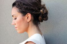 Fishtail Braid Up Do | 28 DIY Hairstyles