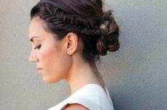 Fishtail Braid Up Do   28 DIY Hairstyles