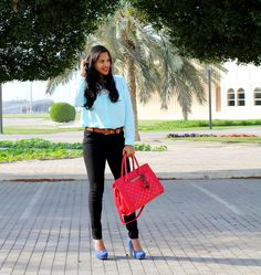 The Silver Kick Diaries: Cool Colors and Blacker Than Black Skinnies