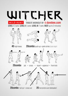 Witcher - Wild Hunt Workout