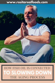 Fish Oil has been linked to aging slower and healthier. See more tips and tricks to slow down aging. Fish Oil Benefits, Cod Liver Oil, Supplements For Women, Aging Process, Stay Young, Slow Down, Natural Healing, Scientists, Connection