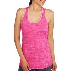 Pink Blaze Heather - Size L   Danskin Now Women's Beyond Cotton Tank - Walmart.com