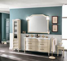 #Eban #composizione Rachele #154   su #casaebagno.it a 2455 Euro/set   #composiozioni #mobili #bagno #arredamento #design