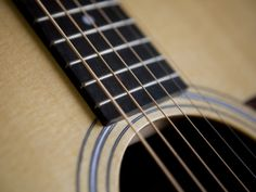Close View of a Guitar, Annapolis, Maryland, United States Photographic Print by Taylor S. Kennedy at Art.com
