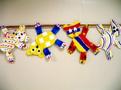 Art Room Current Projects Primary colors w/ patterns teddy bears