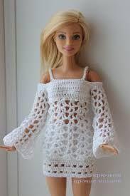 crochet barbie dress free pattern ile ilgili görsel sonucu