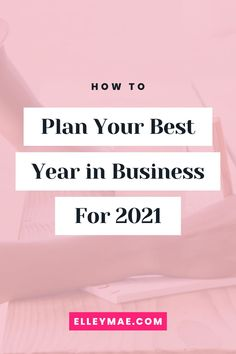 How to set business success goals that are fun, flowy and aligned for 2021. #2021Goals #BusinessGoals