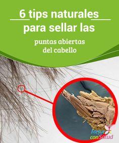 6 tips naturales para sellar las puntas abiertas del cabello  La mayoría de las mujeres busca un tratamiento eficaz para sellar las puntas abiertas que hacen lucir el cabello reseco y deteriorado.