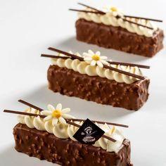 Fancy Desserts, Gourmet Desserts, Delicious Desserts, Elegant Desserts, Sweet Recipes, Cake Recipes, Dessert Recipes, Mini Cakes, Cupcake Cakes