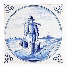 Delfts Blauw kalender / Delft Blue calendar / Delft Bleu calendrier / Delfter Blau Kalender