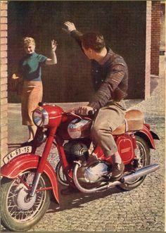 Kara Jawa ve Jawa klasik severler Motorcycle Posters, Motorcycle Types, Car Posters, Classic Motors, Classic Bikes, Vintage Motorcycles, Cars And Motorcycles, Vintage Bikes, Vintage Cars